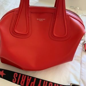 MEDIUM RED GIVENCHY NIGHTINGALE 🍒